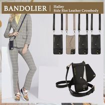 【BANDOLIER】人気☆Hailey Side Slot Leather Crossbody