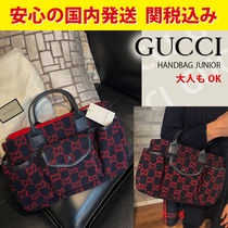 GUCCI(グッチ) 子供用トート・レッスンバッグ 関税送料込国内発送★大人もOK!! GUCCI GG tote bag