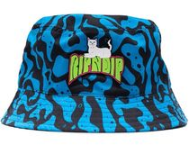 Ripndip Psychedelic Bucket Hat Black/Blue ハット 送料無料