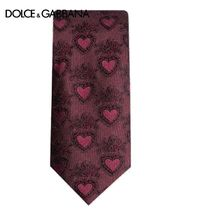 【21SS】Dolce & Gabbana★ハートパターン ネクタイ