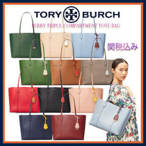 Tory Burch★Perry トリプル収納 トートバッグ♪A4収納可能