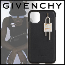 GIVENCHY 21SS 4G パッドロック付き レザー iPhone 11 ケース