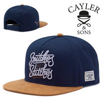 CAYLER&SONS(ケイラーアンドサンズ) キャップ SALE★Wl Get Stiches Cap【送込Cayler&Sons】ロゴ/筆記体★紺茶