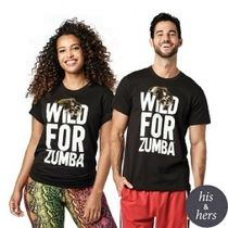 ★国内在庫 Zumba Wild For Zumba Tee Bold Black ユニセックス