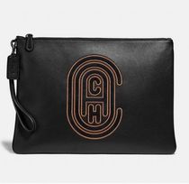 Coach ◆ 76244 Pouch 30 with coach patch