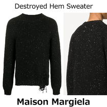 ▽国内発送・関税込▽Maison Margiela▽Destroyed Hem Sweater