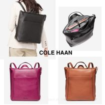 COLE HAAN ★Grand Ambition Leather Backpack★セール価格