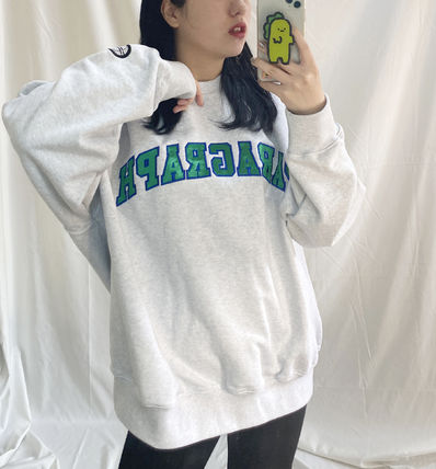 Paragraph スウェット・トレーナー paragraph PRG Colorful Embroidery MTM NE2742 追跡付(9)