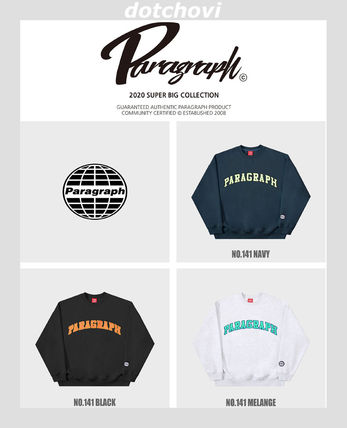 Paragraph スウェット・トレーナー paragraph PRG Colorful Embroidery MTM NE2742 追跡付(10)