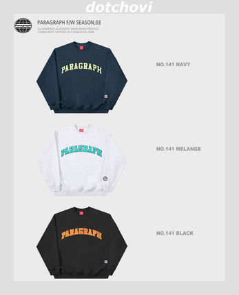 Paragraph スウェット・トレーナー paragraph PRG Colorful Embroidery MTM NE2742 追跡付(11)