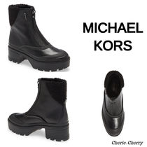 【MICHAEL KORS】Channing Waterproof Bootie レザー ブーティ