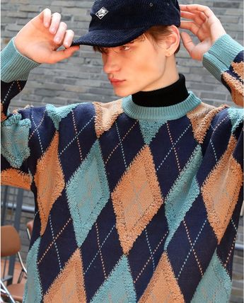 【General IDEA】RETRO ARGYLE KNIT ★Seventeen JUN着用★