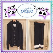 gelato pique(ジェラートピケ)HOMME★メンズセットアップ★