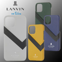 【LANVIN COLLECTION】iPhone12/ 12Pro/ 12mini ケース