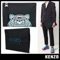【KENZO ケンゾー】Canvas Kampus Tiger pouch