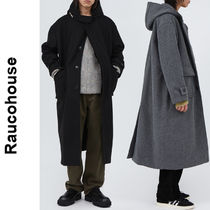 Raucohouse(ラウコハウス)★Wool Hooded Duffel Long Coat