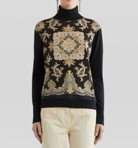 ETRO(エトロ)JERSEY JUMPER WITH PAISLEY PRINT