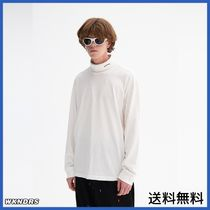 [WKNDRS] LONG SLEEVE TURTLE NECK (WHITE)