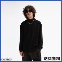 [WKNDRS] LONG SLEEVE TURTLE NECK (BLACK)