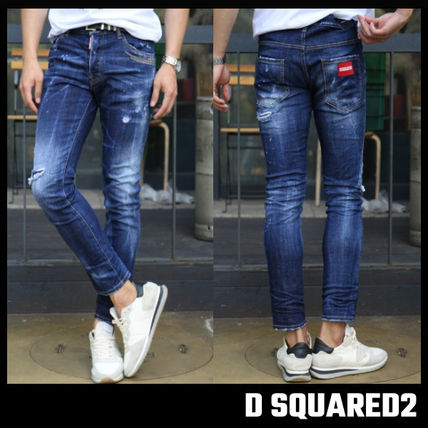 D SQUARED2(ディースクエアード) デニム・ジーパン 【D SQUARED2】SKATER JEANS