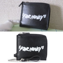 """OFF-WHITE QUOTEクオートロゴ""""FOR MONEY""""チェーンウォレット"""