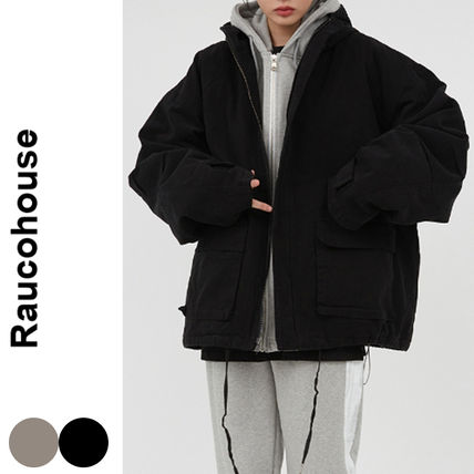 Raucohouse(ラウコハウス)★Over-Fit Hooded Quilted Jacket