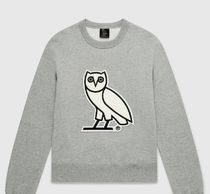 OCTOBERS VERY OWN(オクトーバーズ ベリー オウン) スウェット・トレーナー 【OCTOBERS VERY OWN】OVO CHENILLE WMNS CREWNECK全3色在庫確認