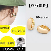 国内在庫・即納可能TOMWOOD Ice Hoops Medium-Gold