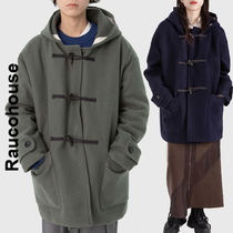 Raucohouse(ラウコハウス)★Half Hooded Duffel Coat