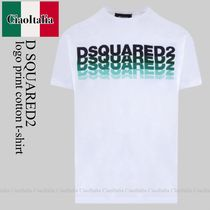 Dsquared2 logo print cotton t-shirt