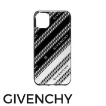 【GIVENCHY】iPhone 11ケース チェーンロゴ/送・関税込