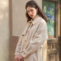 ●Letter from Moon● Parisian Wool Trench Coat 2カラー