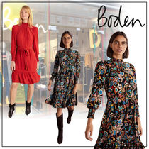 【Boden】Carrie スモック ワンピース