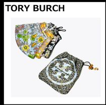 【TORY BURCH】PRINTED FACE MASK 3枚セット ポーチ付き マスク