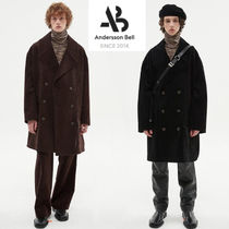 AnderssonBell   OVERSIZED CORDUROY DOUBLE BREASTED COAT