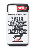 The black eye patch DANGER HOT LABEL IPHONE 11PRO CASE