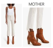 MOTHER(マザー) デニム・ジーパン ★MOTHER★Insider Crop Step Fray デニム (Tiv Toasted Ivory)