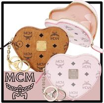 MCM(エム シー エム) コインケース・小銭入れ ★送料 関税込★MCM★Heart Coin Pouch Charm in Viseto.s★人気
