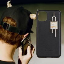 《GIVENCHY》20AW*4G パッドロック付き レザー IPHONE 11ケース