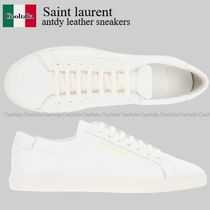 Saint laurent antdy leather sneakers