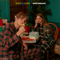 【SPAO×HOME ALONe】check plannel パジャマ
