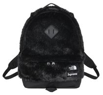BLACK【在庫あり】 SUPREME THE NORTH FACE FAUX FUR BACKPACK