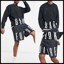 ASOS Dark Future oversized sweatshirt & short