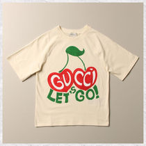 【GUCCI】cherry プリント Tシャツ 8A WHITE