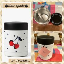 kate spade new york(ケイトスペード) タンブラー kate spade★可愛いcherry dot insulated food container
