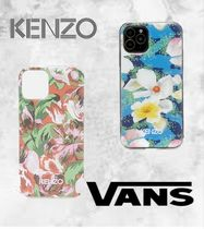 KENZO VANS コラボケース KXV20 iPhone 11P Red Floral