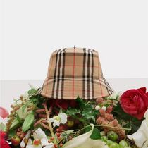 ★BURBERRY VINTAGE CHECK BUCKET HAT バケットハット