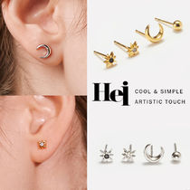 韓国発【Hei】star & moon 4set earring☆追跡付