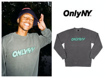 ★ONLY NY Sketch Crewneck ロゴ トレーナー 送料込★