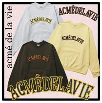 ☆acme'delavie☆FULL LOGO PATCH EMBROIDERY SWEAT SHIR.T★